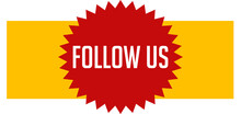 Follow Us Web Sticker Button