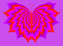 Red Butterfly. Optical Expansi...