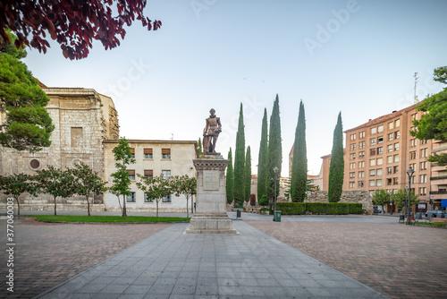 Obraz na plátně Valladolid ciudad historica y monumental de la vieja Europa