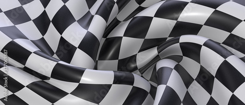 Fotografía finish race flag illustration textil background