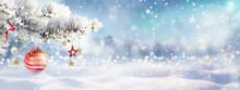 Beautiful Winter Christmas Sce...
