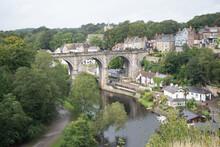 Popular Tourist Destination Of Knaresborough, A Picturesque Village In Yorkshire.