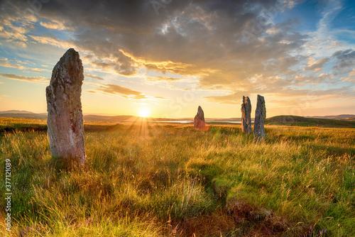 Fotografie, Obraz Standing stones at the Callanish IV stone circle
