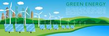 Green Energy Concept Banner De...