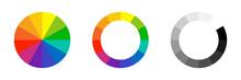 Color Wheel. Vector Isolated E...