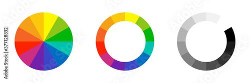 Fotomural Color wheel