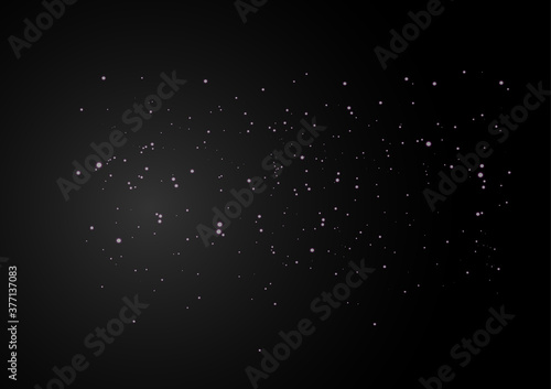 Fotografering Black background with beautiful sparkle glitter made from vector.