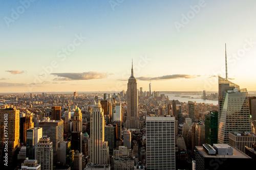 Fototapeta Evening Empire State Building, New York