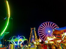 The Bright Lights And Brilliant Colors Of Your Average County Fair.