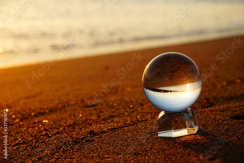 ガラス玉 Fototapet