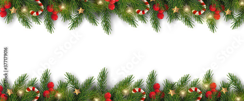 Fotografie, Obraz Merry Christmas and Happy New Year