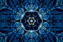 Abstract Kaleidoscope Pattern ...