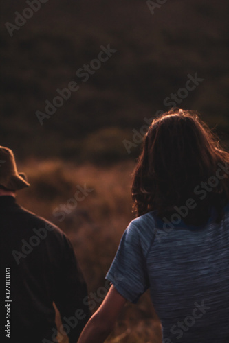 Foto pessoas na paisagem