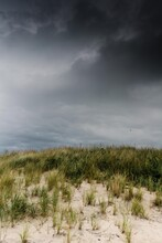 Stormy Day At Hte Beach