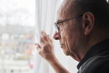 Portrait Of An Elderly Man Loo...