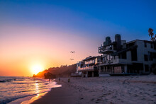 A Stunning Shot Of The Sunset ...