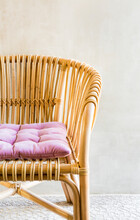 Detail Of Wicker Chair