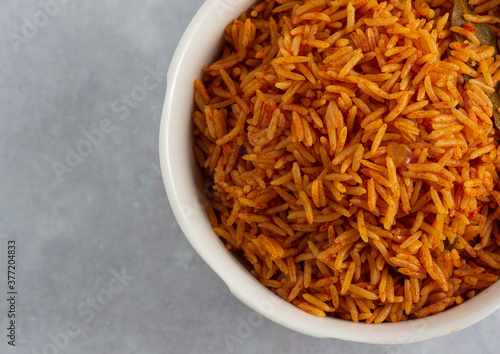 Jollof Rice Canvas-taulu