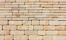 The Wall Is Lined With Hewn Ro...
