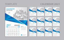 Calendar 2021 Template, Set De...