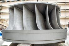 A Francis Hydro Turbine. Renewable Energy.