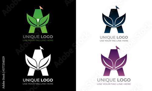 A latter logo. It's a natural logo. Poster Mural XXL