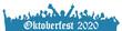 canvas print picture - Illustration - Oktoberfest 2020 - München - Banner