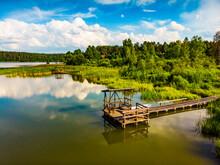Lake At Summer Masuria, Poland