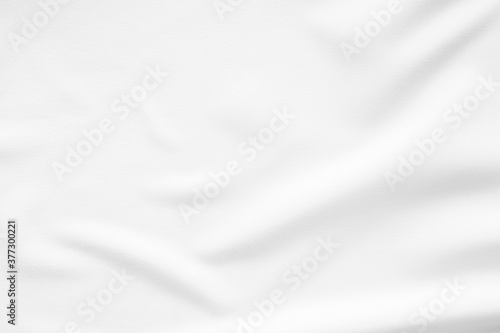 Leinwand Poster White fabric smooth texture surface background