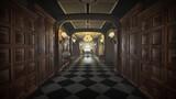 Fototapeta Do przedpokoju - hotel corridor