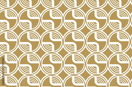 Abstract seamless modern luxury pattern Wallpaper Mural