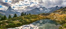 Leisee Lake Near Zermatt In Sw...