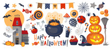 HALLOWEEN Big Set Vector