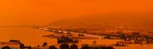 Orange Haze Over San Francisco...