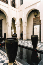 Traditional Riad Architecture In Morocco