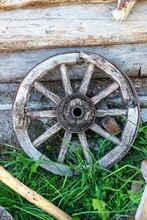 The Wheel Of An Old Cart Again...