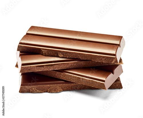 Fotografie, Tablou chocolate sweet food dessert stack brown cocoa dark piece delicious ingredient c
