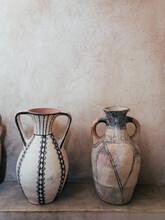 Two Antique African Vases