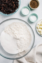 Ingredients For Baking Still Life
