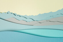 Paper Background Landscape
