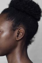 Closeup Of An African Woman