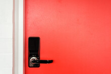 Coral Red Door With Keyless Entry