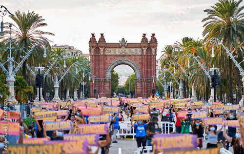 Fototapeta Diada de Cataluña 2020
