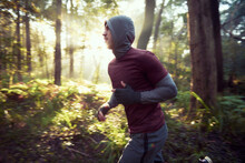 Morning Run In The Woods / For...