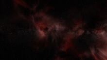 Beautiful Red Nebula With Star...