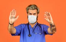 Stop Coronavirus. Dont Enter Q...