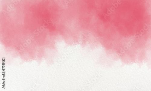 Photo Crimson watercolor background