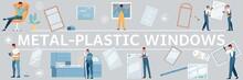 Plastic Windows Flat Pattern