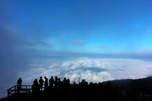 Viewpoint With Cloud And Blue ...