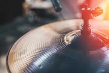 Close Up Hi Hat Drum Sound